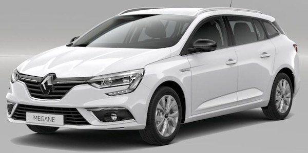 Renault Megane Grandtour mit 140 PS im Gewerbe Leasing für 156,52€ mtl. brutto