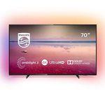 Philips 70PUS6704 – 70 Zoll UHD Fernseher mit 3-seitigem Ambilight ab 749€(statt 981€)
