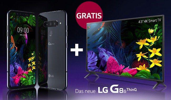 LG legt nach: weitere 1.000 gratis UHD TV zu jedem LG G8s ThinQ