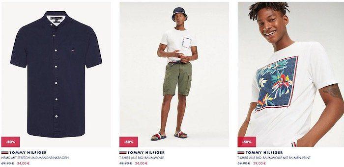 Tommy Hilfiger Sale mit genau 50% Rabatt + 10% Rabatt + versandkostenfrei