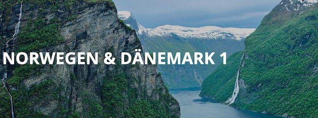 10 Tage mit AIDAmar ab Warnemünde nach Norwegen & Dänemark ab 699€ p.P.