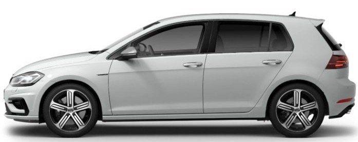 VW Golf R 4Motion 2.0 TSI DSG mit 300PS im Gewerbe Leasing für 175€ mtl. netto