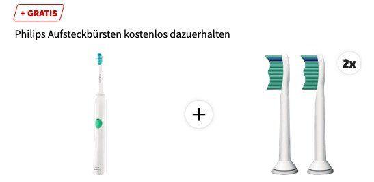 Philips Sonicare HX6510/22 EasyClean Schallzahnbürste für 34,99€ (statt 42€) + 4 Bürsten geschenkt