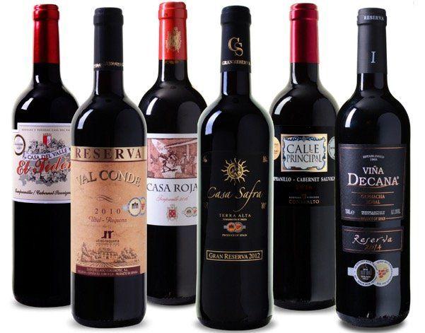 Wein Probierpaket Bestseller aus Spanien mit 6x medaillenprämiertem Rotwein für 28,99€ (statt 55€)