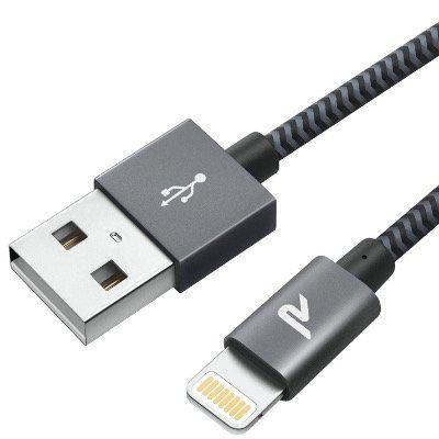 Rampow Lightning Kabel (zertifiziert) in Grau und 1 Meter für 4,79€ (statt 8€) – Prime
