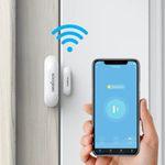 Koogeek Tür/Fenster-Sensor mit App-Zugriff für 12,99€ (statt 18€) – Prime