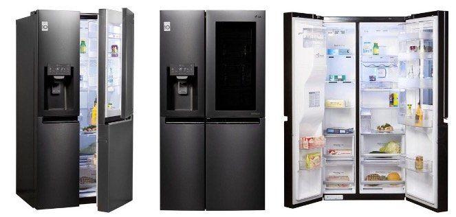 LG GSX961MTAZ Side by Side Kühlkombination mit InstaView Door für 1.549€ (statt 1.745€)
