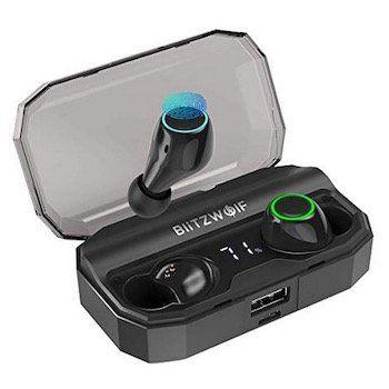 Blitzwolf BW FYE3S   BT 5.0 TWS InEar Kopfhörer für 25,99€ (statt 39€)