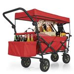 """Fuxtec Bollerwagen """"Prima Garden"""" mit Sonnendach für 89,98€ (statt 131€)"""