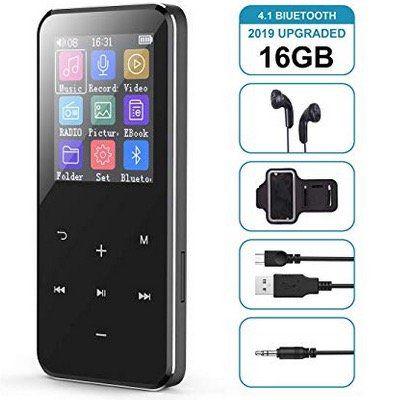Cacagoo 16GB MP3 Player mit Kopfhörer und Sport Armband für 22,99€ (statt 30€)