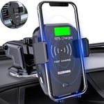 Cleebourg Smartphone-Halterung mit Wireless-Charger für 18,99€ (statt 35€)