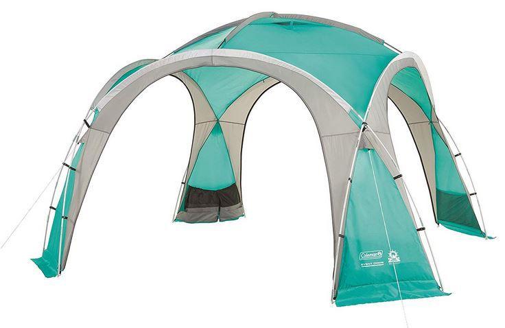Coleman Event Dome Pavillon stabiles Partyzelt mit Stahlgestänge für 139,99€ (statt 252€)