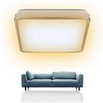 LED-Deckenleuchte mit 12W in 277x277x86mm für 11,19€ (statt 16€)