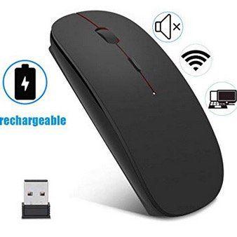 EasyULT kabellose optische Maus 2,4GHz mit USB Empfänger und Kabel für 7,59€ (statt 13€)