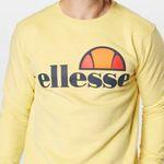 """Ellesse Herren Sweatshirt """"Succiso"""" in Gelb in M bis XL für 29,67€ (statt 43€)"""
