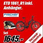 Fischer E-Bike + Leggero Vento V89 Kinder-Fahrradanhänger für 1.645€ (stat 2.300€)