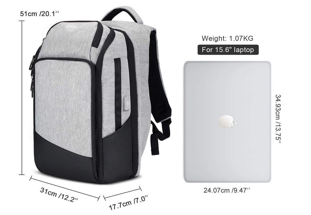 Fresion Laptop Rucksack für 15.6 oder 17 ab 23,99€ (statt 60€)
