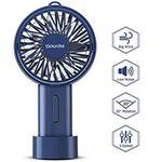 Sawake Handventilator über USB aufladbar mit 2000mAh Akku für 7,99€ (statt 14€)