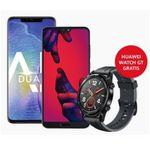 Huawei Aktionen: Viele Tarife mit Smartphones und dazu Bluetooth-Box oder Huawei Watch GT gratis