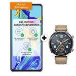 Huawei P30 mit Watch GT für 1€ + O2 Allnet-Flat mit SMS und 6GB LTE für 24,99€ mtl.