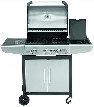 JUSTUS Ares 3 SU Gasgrill in Silber ab 200€ (statt 266€)
