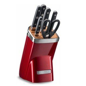 KitchenAid Messerblock KKFMA07OB (7tlg) mit Diamant Wetzstahl für 204,95€ (statt 389€)
