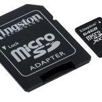 Media Markt Foto Late Night: z.B. KINGSTON micro SD Speicher 64GB, 80 MB/s für 9€ (statt 13€)