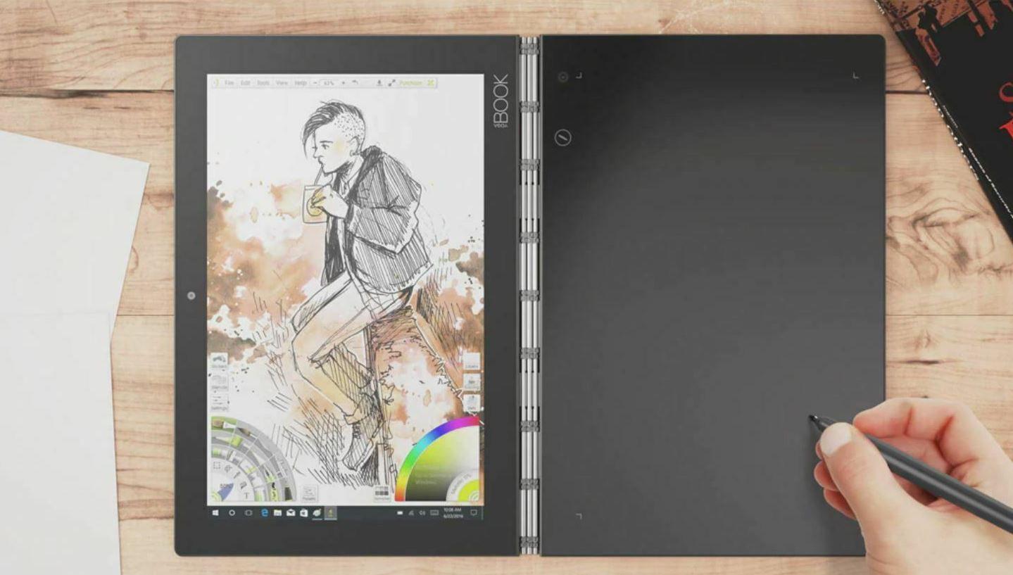 Lenovo Yoga Book   10 Zoll Windows Tablet 64GB 4GB RAM für 249,90€ (statt 541€) Importware