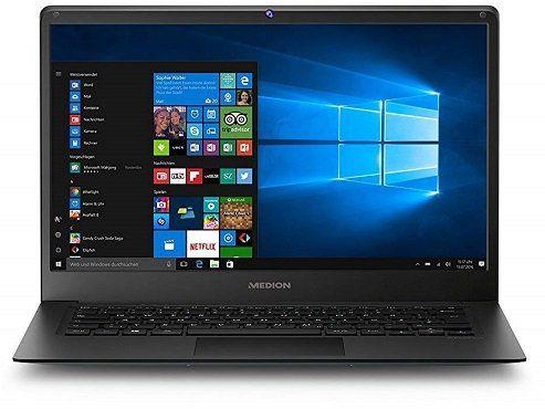 MEDION AKOYA E4241 Notebook mit 14, Atom Prozessor, 4GB RAM, 64GB Flash für 179,10€ (statt 300€)