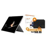 Microsoft Surface Go 4GB + 64GB SSD + Type Cover + Office 365 Home für 429€ (statt 506€)