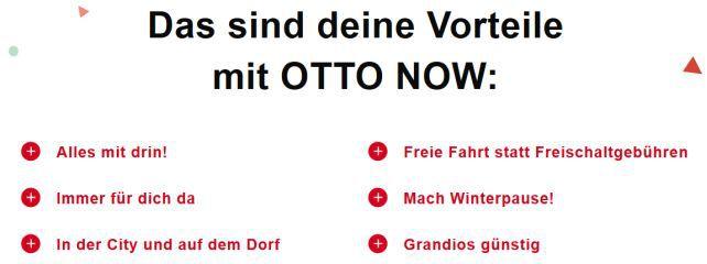 Otto startet E Scooter Abo OTTO NOW im August für nur 39€/Monat