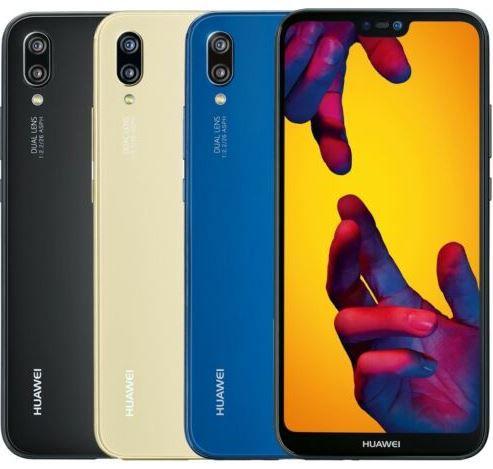 Huawei P20 Lite 5.8 Zoll Smartphone 64GB für 153,08€ (statt neu 210€)