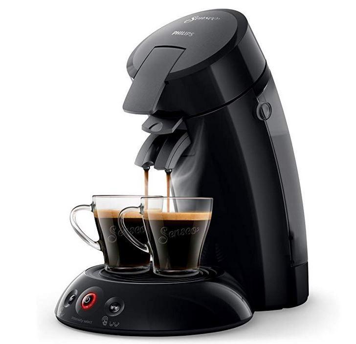 Philips HD6554/68 Senseo Original Kaffeepadmaschine für 41,99€ (statt 55€)