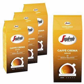 4kg Segafredo Caffe Crema Ganze Bohne für 44€   pro kg nur 11€ inkl. Versand