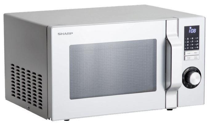 SHARP R344S Mikrowelle 25L (900 Watt) für 79€ (statt 139€)