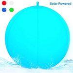 Wasserdichte und schwimmbare LED Solar-Kugel-Leuchte für 12,34€ (statt 19€)