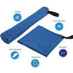 Lebexy Microfaser Strandtuch-Set XXL in Blau für 5,99€ (statt 11€)