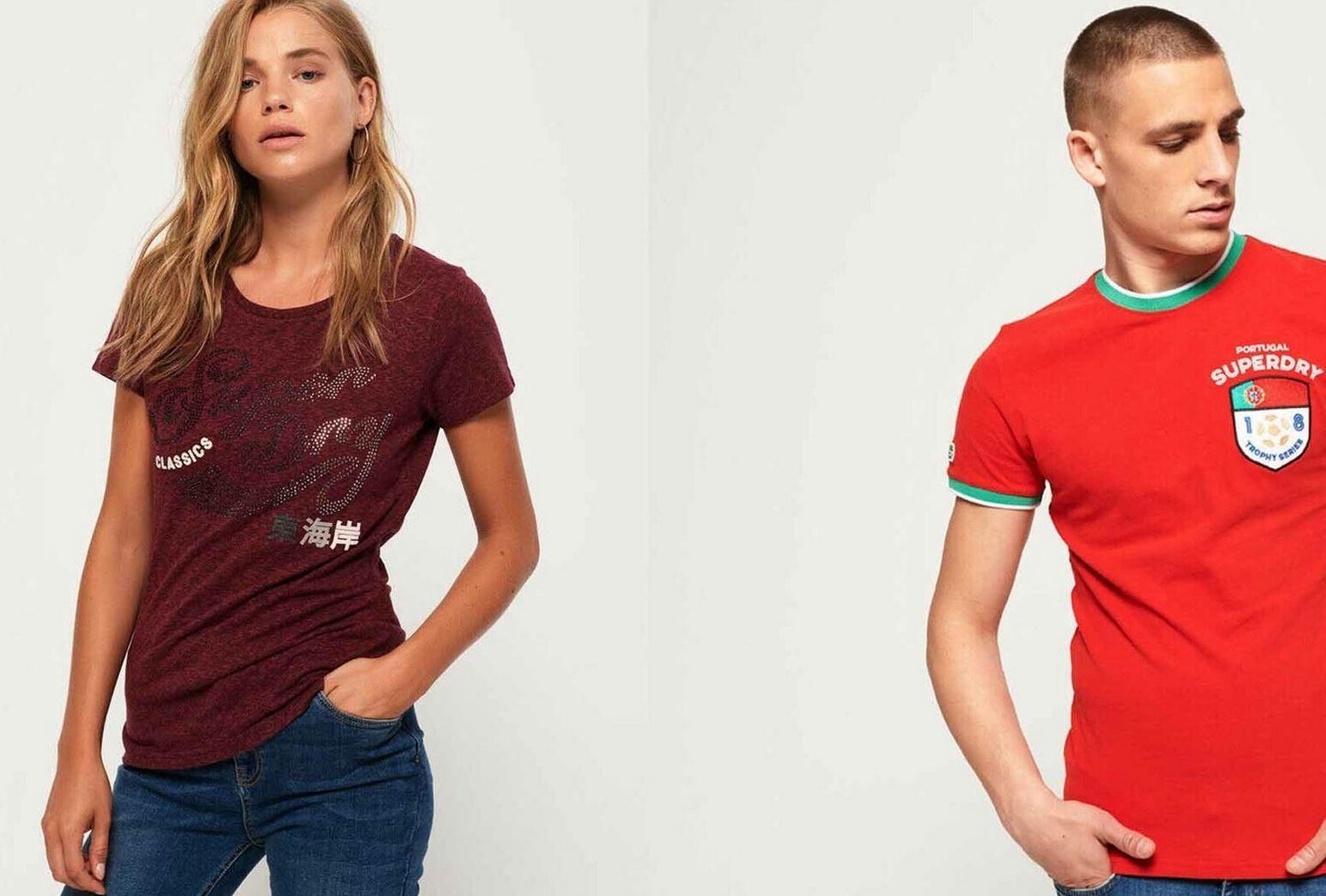 Superdry Damen & Herren T Shirts bis 3XL für je 13,95€ (statt 19€)