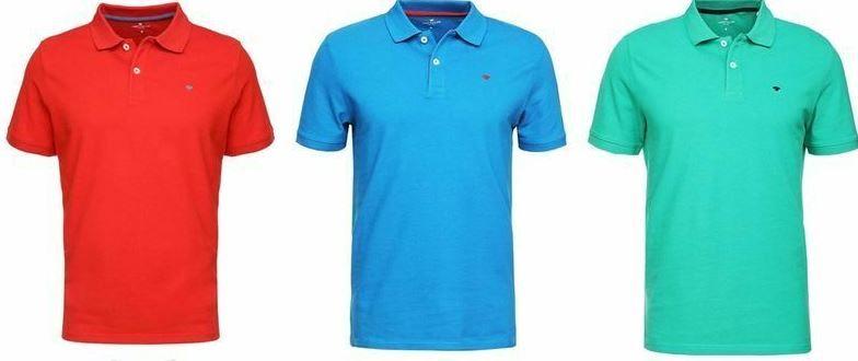 Tom Tailor Basic Herren Poloshirts bis 3XL für je 14,99€ (statt 19€)