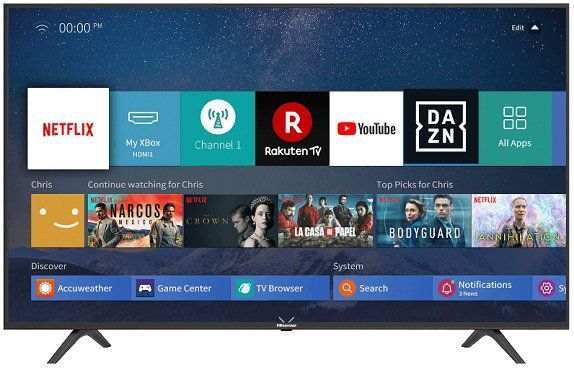 Hisense 43 UltraHD Smart Fernseher H43B7100 für 264,89€ (statt 303€)