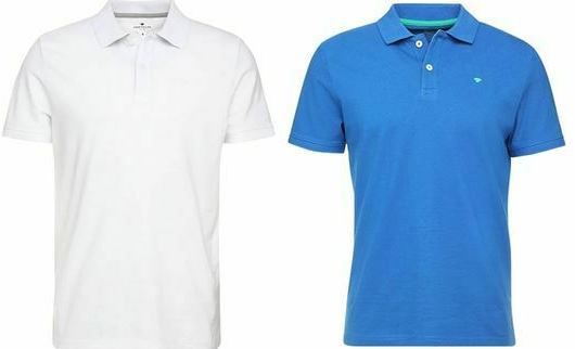 Tom Tailor Basic Herren Poloshirts bis 3XL für je 14,99€ (statt 22€)