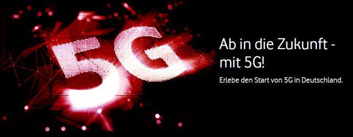Vodafone startet 5G Netz mit Tarifen ab 14,99€/Monat   5G Roaming im Ausland möglich