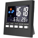 Digitale Wetterstation Loskii DC-001 mit Uhr für 2,84€