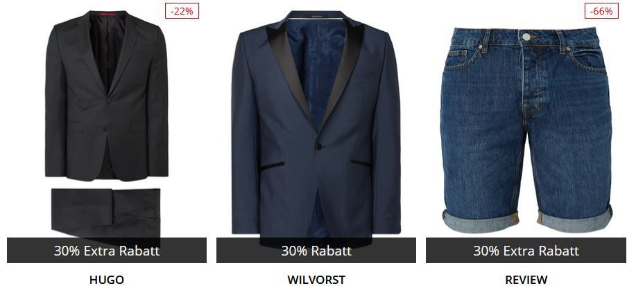 🔥Peek & Cloppenburg* Weekend Sale mit 30% auf ausgewählte Artikel   günstige Damen und Herren Markenklamotten