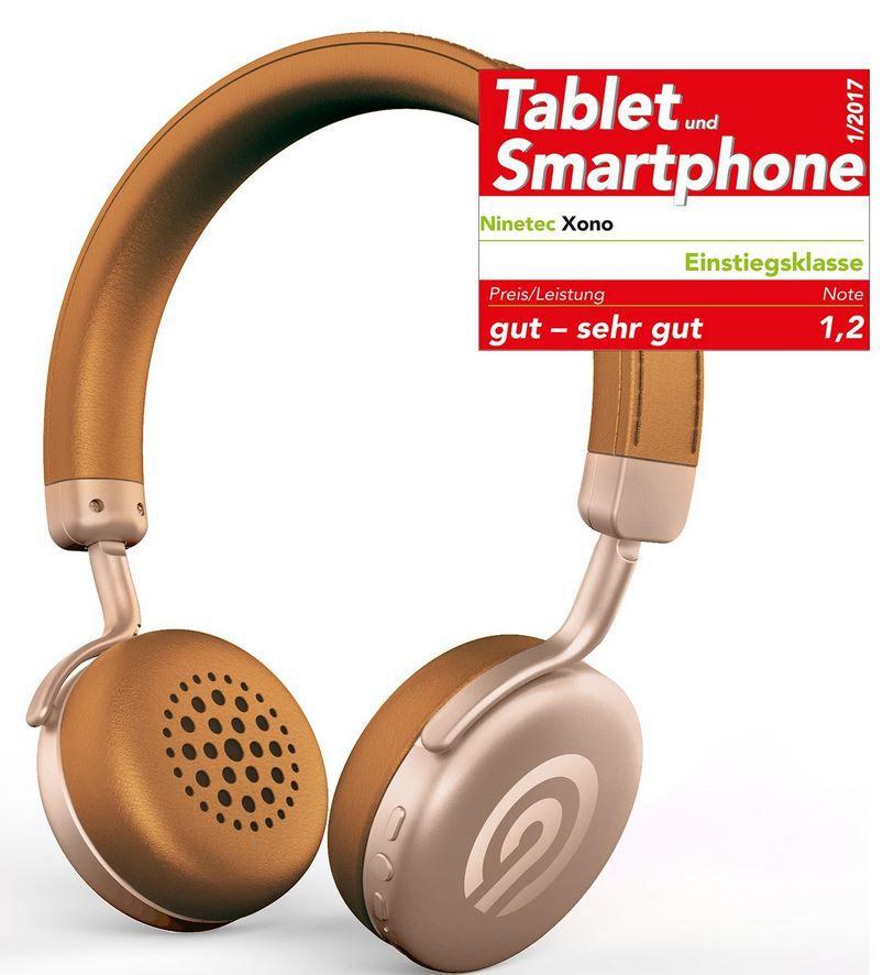 NINETEC Xono Bluetooth On Ear Kopfhörer (Headset) für 19,99€ (statt 50€)