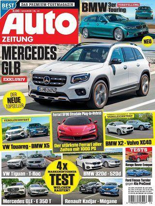 Auto Zeitung Jahresabo (25 Ausgaben) für 78,75€ inkl. 80€ BestChoice Gutschein