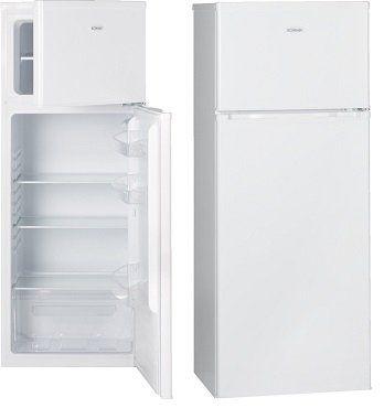 BOMANN DT 347 Kühlgefrierkombination mit EEK A++, 1440 mm hoch in Weiß für 199€ (statt 219€)