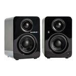 QUADRAL BREEZE BLUE L Lautsprecher (Paar) in Schwarz mit 2x 35 W für 119€ (statt 164€)
