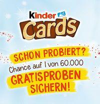 Gratis: Eine Kinder-Cards-Probe von Ferrero erhalten