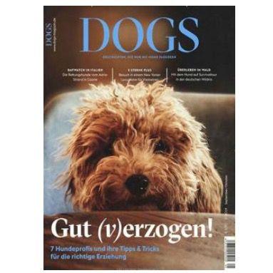 DOGS Magazin für Hundebesitzer im Jahresabo für 35,40€ + Prämie: 30€ Amazon
